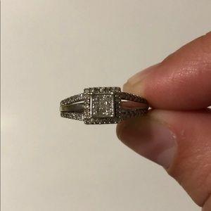 1/4 karat diamond ring